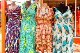 dresses of ghana west africa stock photos freeimages com