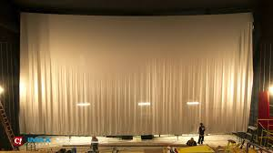 screen size for home theater imax screen installation timelapse at celebration cinema