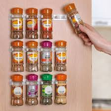 spice cabinets for kitchen amazon com home it spice rack spice racks for 20 cabinet door