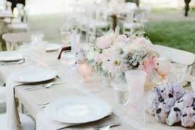 wedding reception ideas colorful drinkware and glassware inside