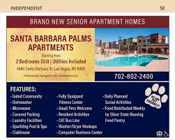 amenities nevada senior guide