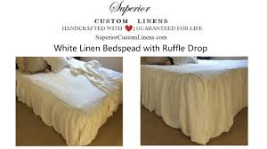 bedspreads bed cover ruffle bedding handmade by superior custom