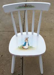 Round Chair Name Peter Rabbit And All The Favorite Beatrix Potter Characters Adorn