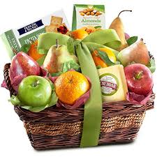 fruit gift ideas cheese and nuts delight fruit basket gourmet fruit
