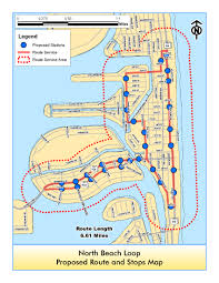 Zip Code Miami Map by Free North Beach Trolley Service Miami On The Cheap