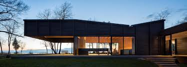 building a home in michigan desai chia u0027s michigan lake house features dramatic 20 foot cantilever