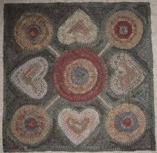 63 best payton primitives hooked rug designs images on pinterest