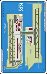 Portland Airport Terminal Map by Osaka Kansai International Airport Map Cc R Aehnelt Via