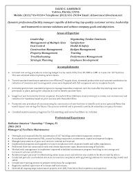 Sample Resume For Fresh College Graduate Resume Maintenance Manager Resume
