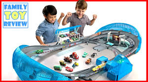 matchbox car play table new cars 3 toys florida 500 speedway playset big track first look