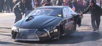 lexus lf lc blue concept 2012 lexus lf lc drag racer does 6s quarter mile runs with 2jz