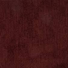 Velvet Chenille Upholstery Fabric Wine Red Burgundy Solid Stripe Chenille Upholstery Fabric By The