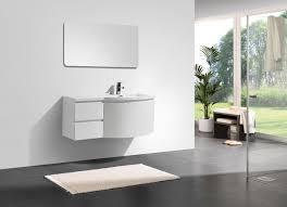 armadietti per bagno mobile da bagno laurance 1200 bianco lucido armadietto e