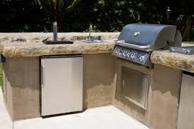 outdoor kitchen countertops what are the best options