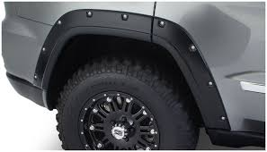 black jeep grand cherokee bushwacker 10927 02 oe black pocket style fender flare for jeep