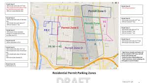 Chicago Street Parking Map by Short North Parking Fixes Proposed By Columbus Leading To