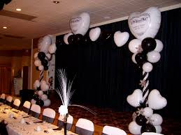 black and white wedding decorations wedding centerpiece ideas black white decorating of party