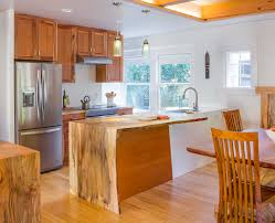 Beech Kitchen Table by Kitchen Remodeled With Pacific Madrone Custom Cabinets A Portland