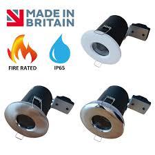 Waterproof Bathroom Spotlights Fire Rated Ip65 Bathroom Gu10 Downlights Ceiling Spotlights Spot