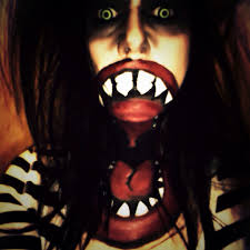 Big Mouth Halloween Makeup The Dead End Hayride Wyoming Mn The Dead End Hayride Pinterest
