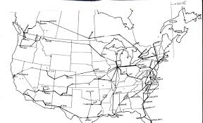 Amtrak Rail Map Graphic Comparison Of Passenger Train Routes 1956 Vs 2013