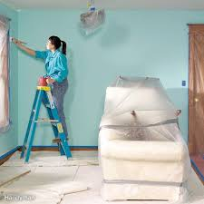 How To Get Marker Off The Wall by Paint A Room Without Making A Mess Family Handyman
