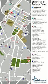 Map Of Singapore Map Of Singapore Map Of Chinatown And Tanjong Pagar