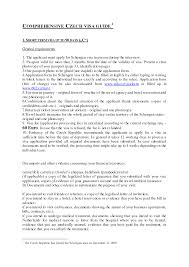 ideas of recommendation letter for schengen visa with additional