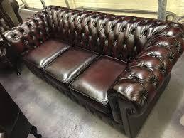 original chesterfield sofas original vintage chesterfield suite professionally restored