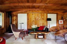 Charming Living Rooms With Wooden Panel Walls Rilane - Interior design ideas for living room walls