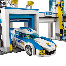 amazon com lego city police station 60141 cool toy for kids toys