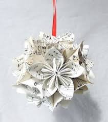 newspapers origami wreath glass flowers origami and newspaper