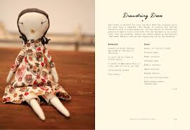 doll design book the making of a rag doll design sew modern heirlooms jess brown