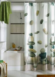 bathroom curtain ideas for shower colorful printed shower curtain draping ideas trends4us