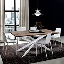 lucido extending central part white extending dining tables online arredaclick