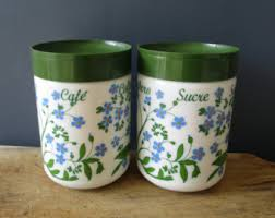 italian canisters kitchen italian canister etsy