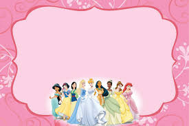 Customized Invitation Cards Free Free Templates For Princess Party Invitation Cards