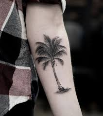 55 magnificent tree tattoo designs and ideas palm tattoo and