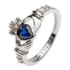 claddagh ring september birthstone claddagh ring claddagh rings rings from ireland