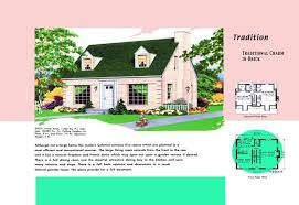 cape cod home floor plans cape cod house plans 1950s america style