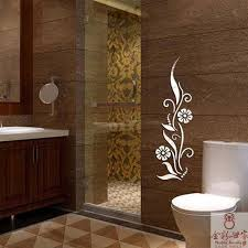 Mirror Stickers Bathroom Mirror Stickers Abstract Pattern Wall Stickers Fashion All Match