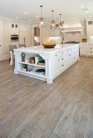 custom white oak hardwood floors traditional kitchen orange