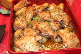 cuisine recette poulet rôti et pommes de terre au four recette de samira tv