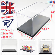clear acrylic l base uk stackable clear acrylic display case plastic black base dustproof