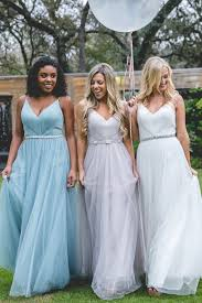 teal bridesmaid dresses penelope tulle dress revelry
