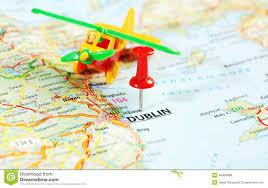 Map Of Dublin Ireland Dublin Map Stock Photo Image 47708161