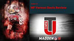 madden 16 budget cheap tight end ultimate team vernon davis review