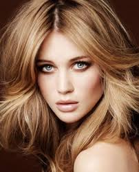 brown eyes hair style best color for brown eyes blonde hair popular long hairstyle idea
