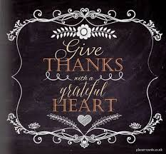 give thanks with a grateful create chalkboard thanksgiving