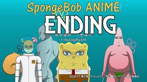 someone made an anime ending for spongebob